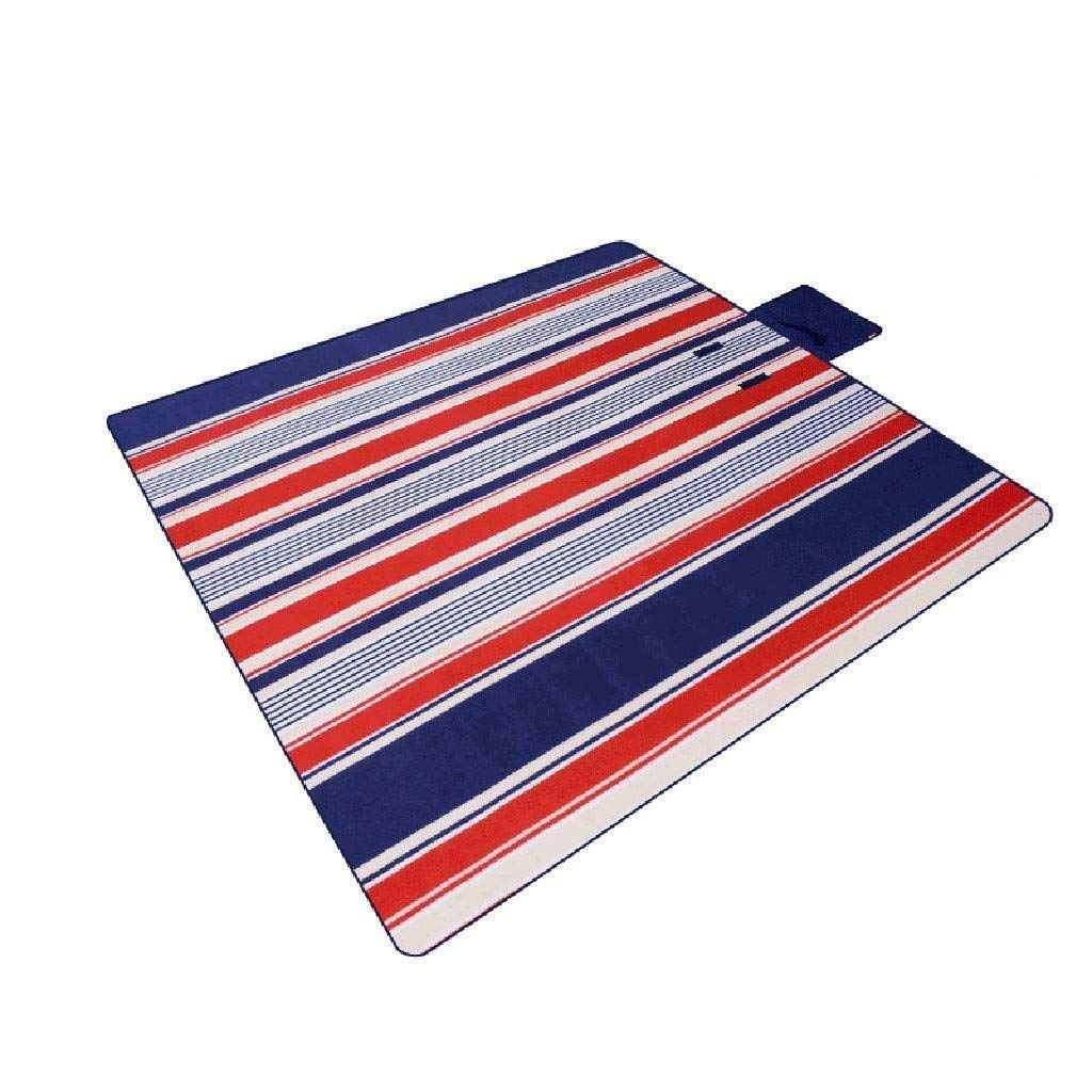 ZKKWLL Picnic Blanket Large Outdoor Picnic Blanket Flocking Picnic mat mat Outdoor Camping mat 200200 Increased Thickening Picnic Blanket Beach mat by ZKKWLL
