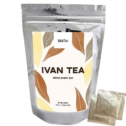 Baikal Tea Bags - Bolsas de té (30 ct, no cafeinadas, teas ...