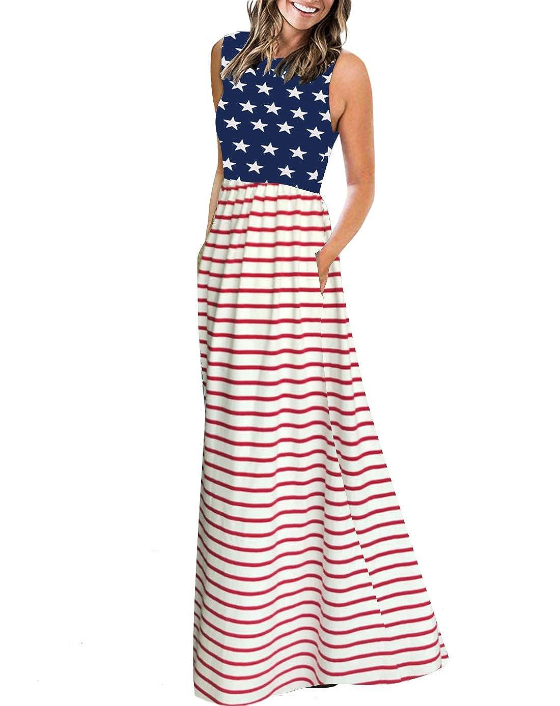 dcb9d4e3e562 ZESICA Women's Floral Print Long Sleeve Pockets Empire Waist Pleated Long  Maxi Dress at Amazon Women's Clothing store: