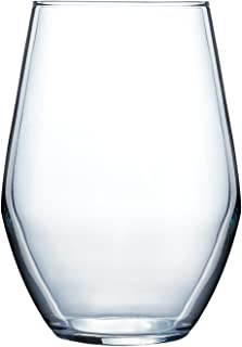product image for Luminarc Concerto Stemless Wine (Set of 4), 11.5 oz, Clear (N3282)