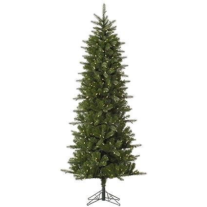 vickerman pre lit carolina pencil spruce tree with 550 warm white mini italian led lights