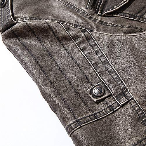 Taglie Grigio Giubbotto Comode Abiti Uomogo Autunno Giacchino Uomo Fit Slim Di Jeans Da Capispalla Invernale Cappotto ZqwARY