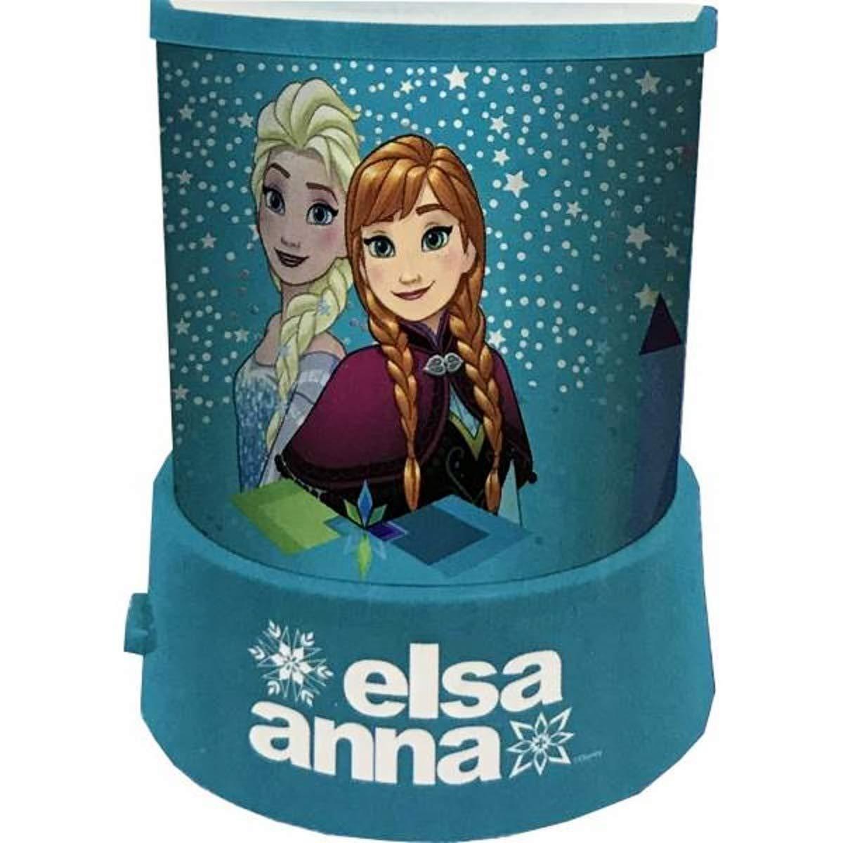 Luz nocturna Proyector de Estrellas Con Los personaje Elsa ...