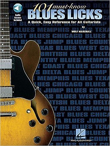 101 Must Know Blues Licks Tab (Tab Book): Amazon.es: Wolf Marshall: Libros en idiomas extranjeros