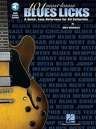 101 Must-Know Blues Licks Delta Blues Guitar Tabs
