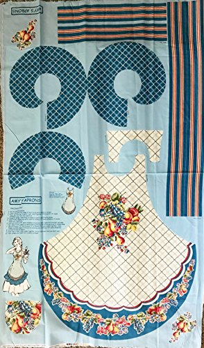 - Easy Cut and Sew Adorable Retro Apron Kit - Colorful