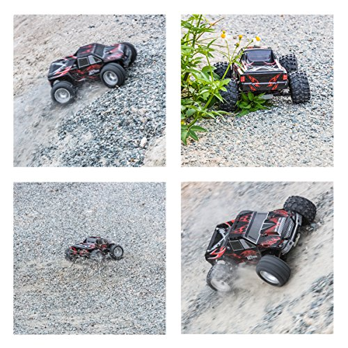 Remote Control Car, Distianert 1/18 Scale 4WD RC Car Electric Racing Car Off Road RC Monster Truck RTR Desert Buggy Vehicle 2.4Ghz 30MPH High Speed with 2 Rechargeable Batteries by Distianert (Image #2)