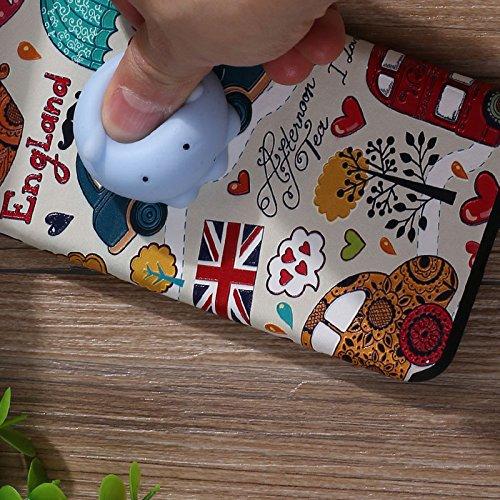 Pinzhi Pinzhi 3D Nizza Weiche Silikon Pappy Squishy Katze für iPhone 7 Plus Case Octopus Telefon Fall Stil C