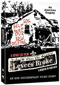 When The Levees Broke HBO 3-Disc Set DVD 2007 by Spike Lee: Amazon ...