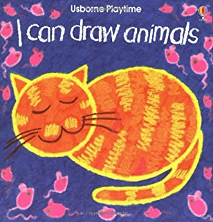 i can draw animals usborne playtime series - Drawing Books For Children