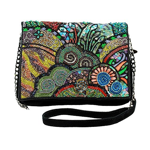 Suede Handbag MARY Cross Embellished Far Out FRANCES Body qxxw0SIPz