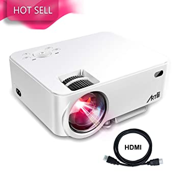 Amazon.com: Proyector de video portátil Artlii LeD de ...