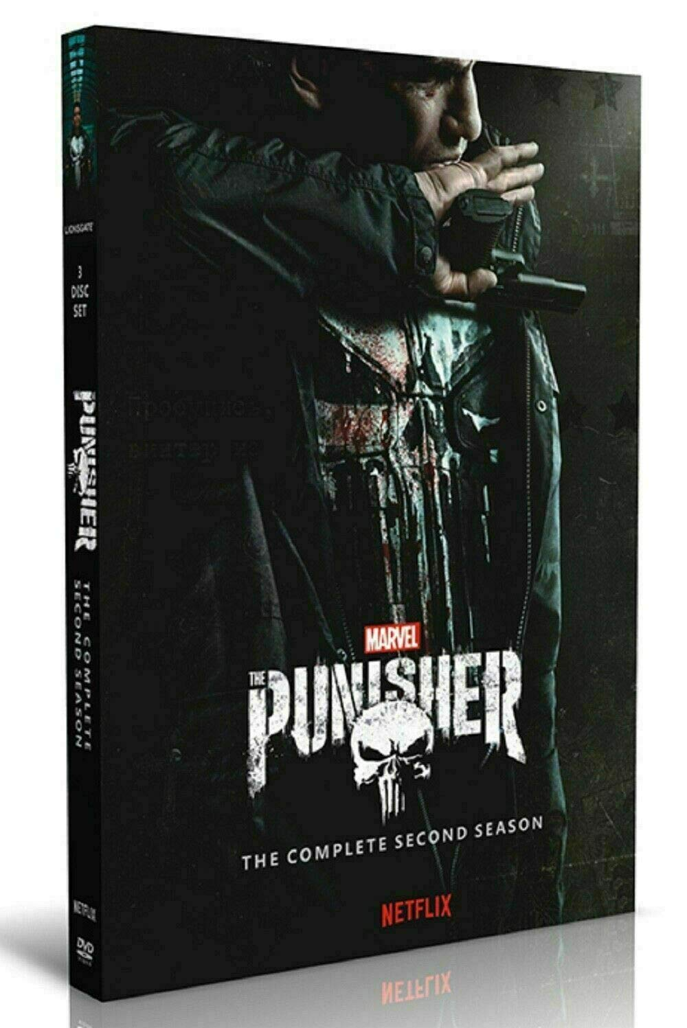 The Punisher Season 2 (DVD, 3-Disc Set, 2019)
