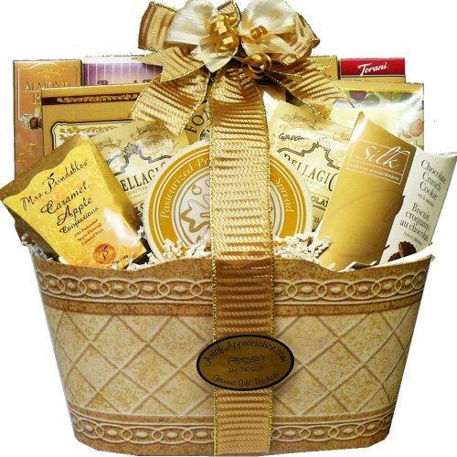 Art of Appreciation Gift Baskets Golden Elegance Gourmet Food Gift Basket by Art of Appreciation Gift Baskets