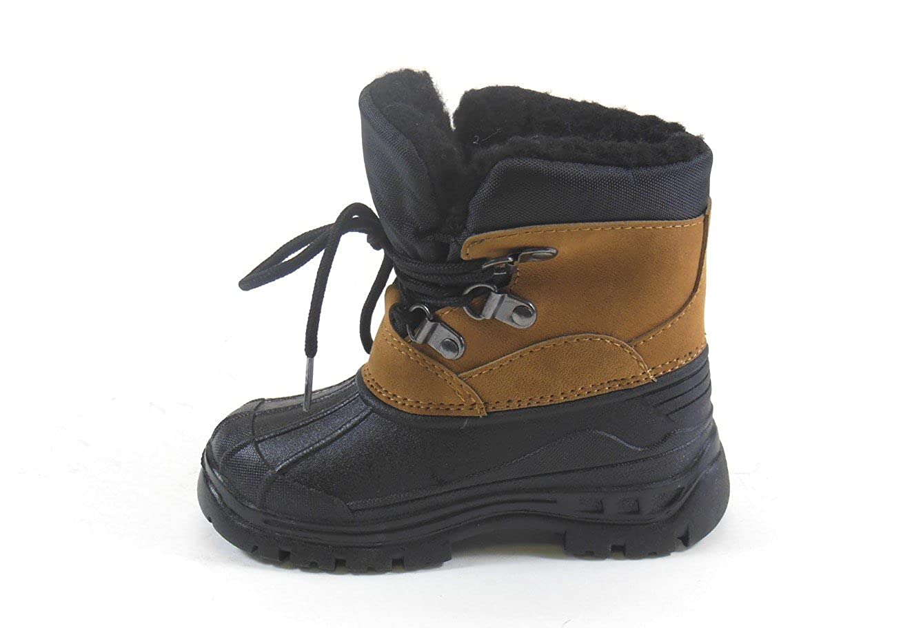 ADORABABY Toddler Boys Water Proof Winter Snow Boots