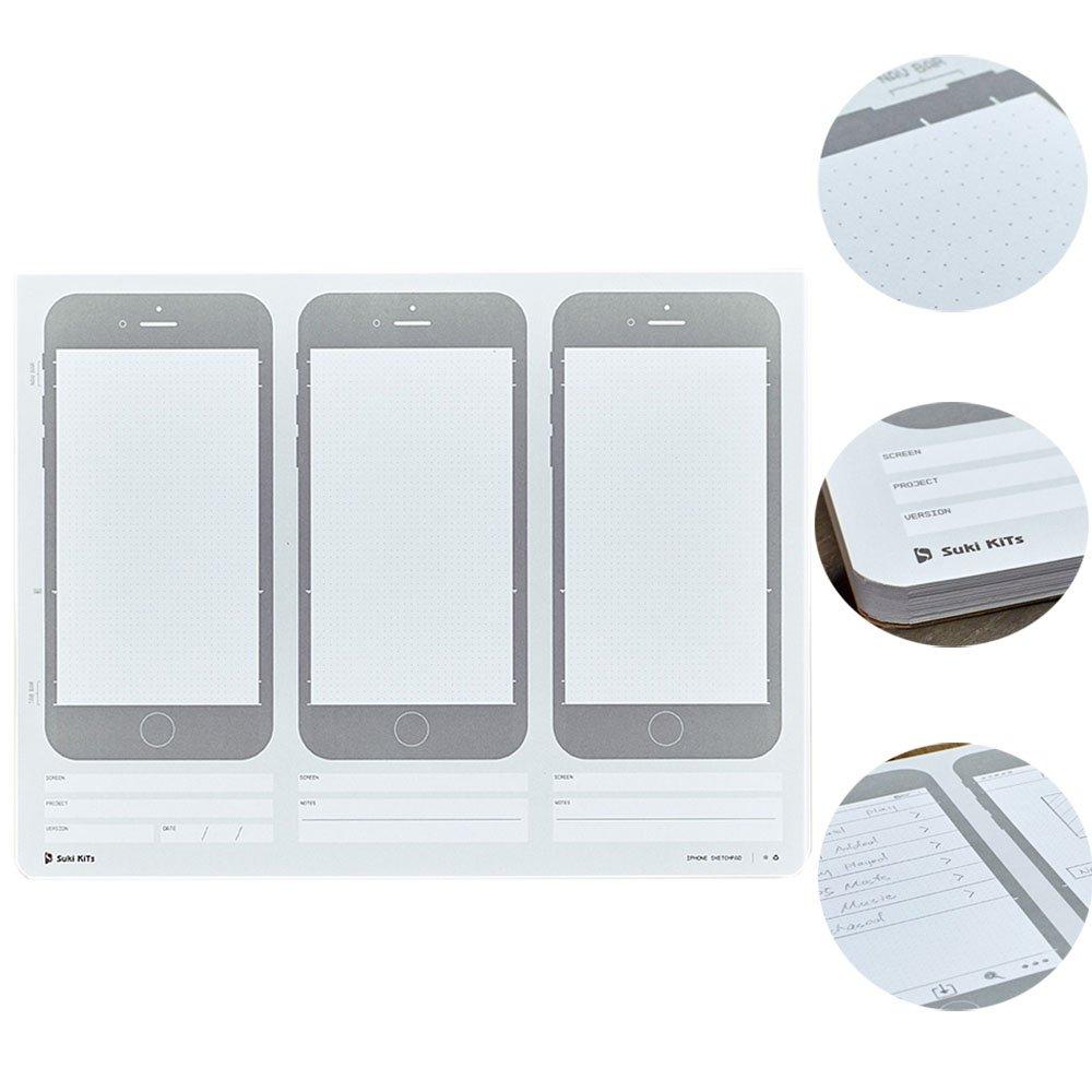 OLizee Creative iPhone 6 Sketch Pad for App Design UI Design