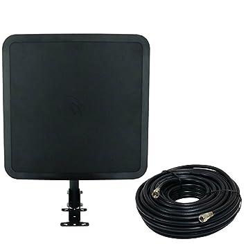 Winegard fl6550 a flatwave Aire Exterior HDTV Antena + coaxial Digital Cable de Audio y vídeo