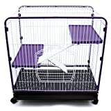 Ware Manufacturing  3-Level Indoor Hutch for Small Pets - Large