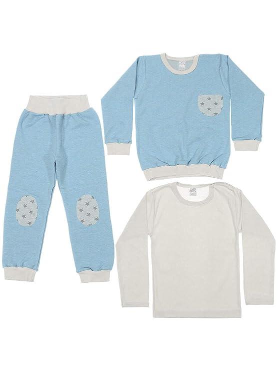3 TLG. Set KleKle Baby Jungen Bekleidung Set 22833