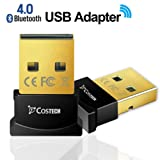 Amazon Price History for:Bluetooth 4.0 USB Adapter, Costech Gold Plated Micro Dongle 33ft/10m Compatible with Windows 10,8.1/8,7,Vista, XP, 32/64 Bit for Desktop , Laptop, computers