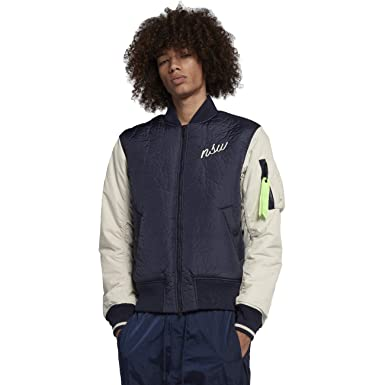87496ccff Amazon.com: Nike Sportswear NSW Synthetic Fill Men's Bomber Jacket: Clothing