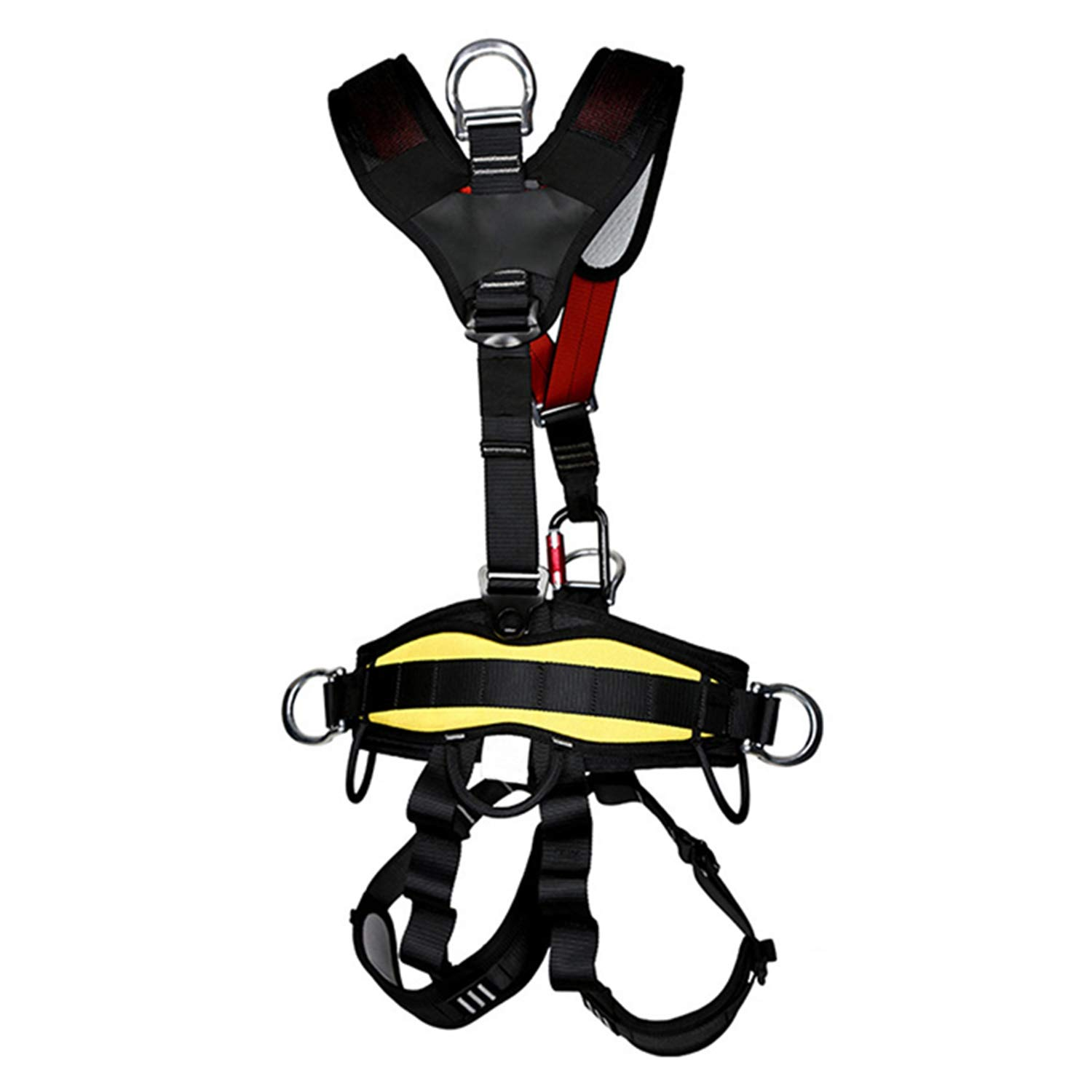 Nrpfell Outdoor Climbing Rock Rappelling Mountaineering Accessories Body Wearing Seat Belt Sitting Waist Bust Protection by Nrpfell (Image #2)