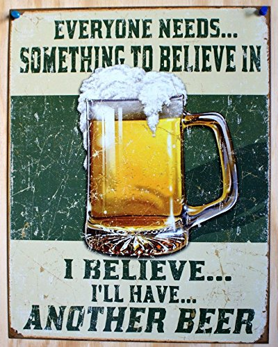 i-believe-ill-have-another-beer-distressed-retro-vintage-tin-sign-tin-sign-13x16-by-poster-discount