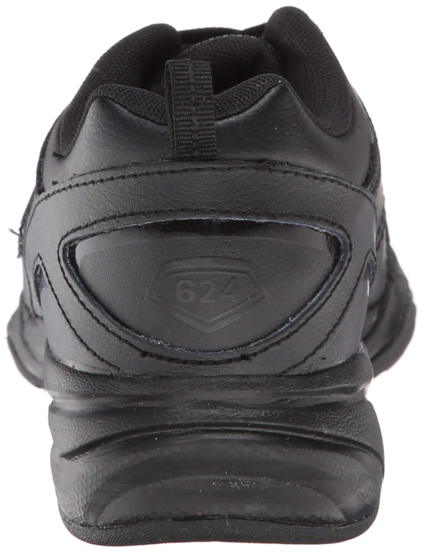 New Balance Boys KX624 Lace-Up Training Shoe ,Black,7 W US Big Kid by New Balance (Image #2)
