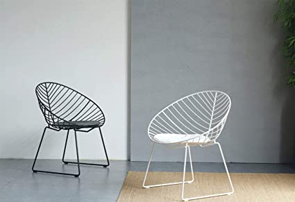 Amazon.com: LRZS-Furniture Simple Hollow Chair Creative ...