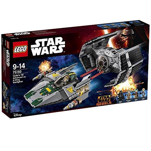 LEGO - 75150 - Star Wars - Le Tie Advanced de Dark Vador contre l'A-Wing Starfighter