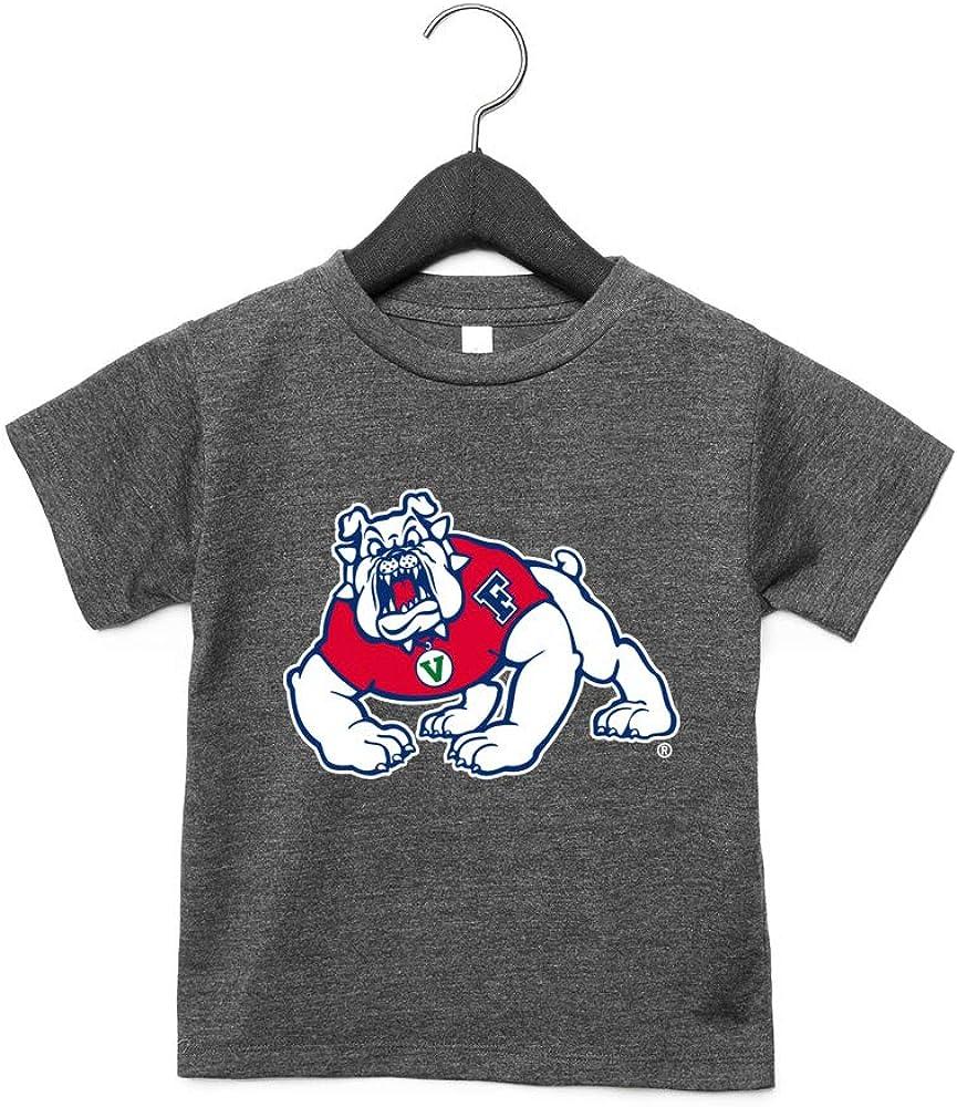 NCAA Fresno State Bulldogs RYLFRS06 Toddler Short Sleeve Tee