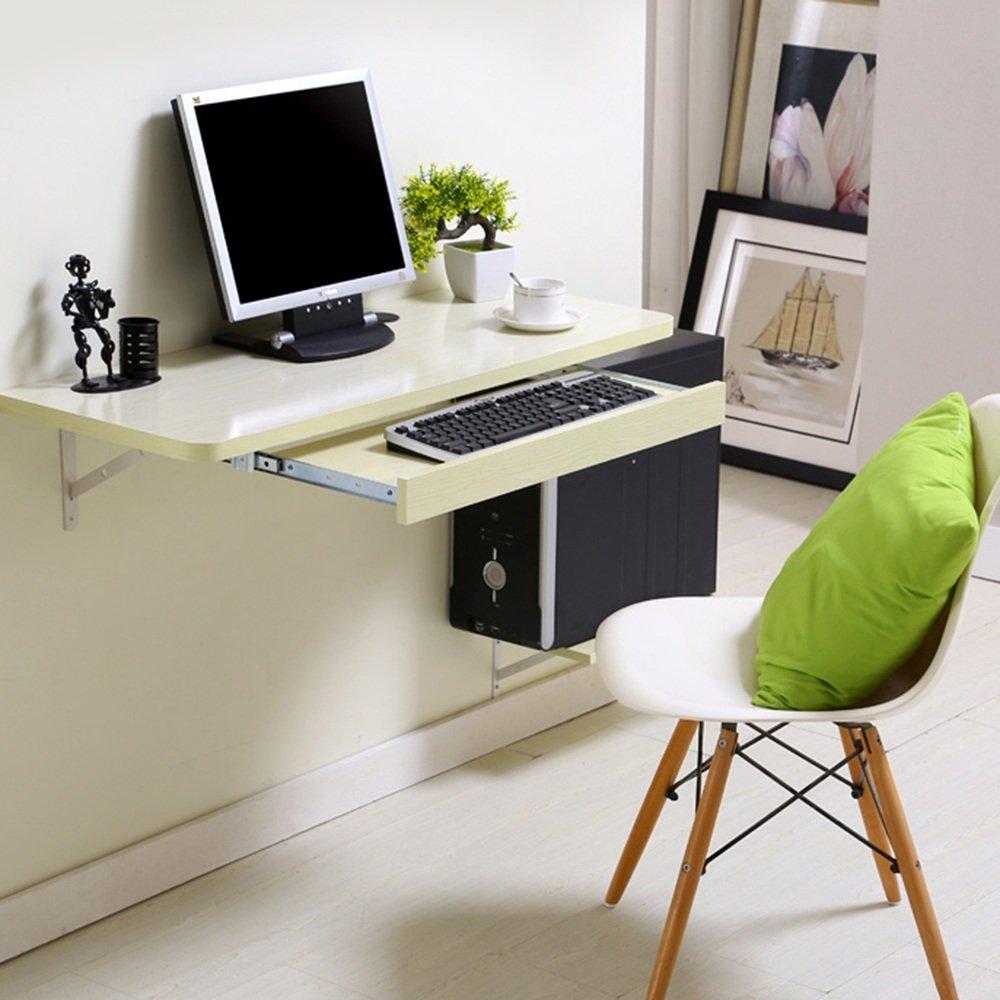 マチョン コンピュータデスク シンプルなデスクトップコンピュータのデスクの壁のテーブル (色 : ナチュラル, サイズ さいず : 120*40cm) B07DZRX655 120*40cm|ナチュラル ナチュラル 120*40cm