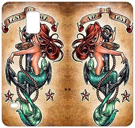 DISNEY PRINCESS ARIE PIN UP tatuajes Encargo Tirón Caja funda Para ...
