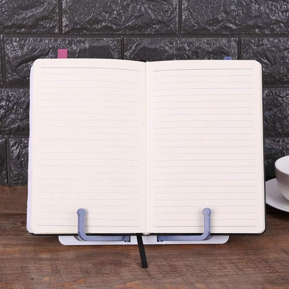 per scrivania portatile con supporto regolabile per lettura e pianoforte NZNNXN Supporto pieghevole per libri per bambini Medium blu