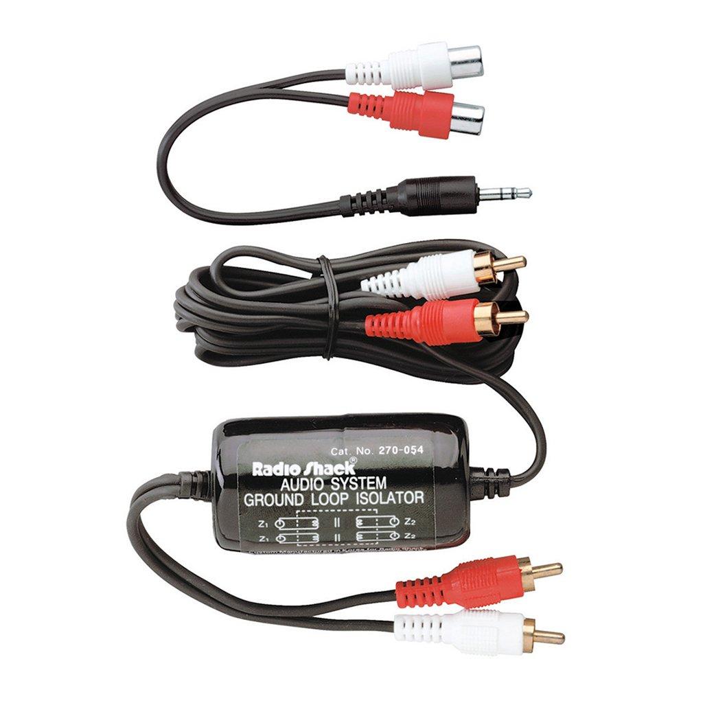 RadioShack Audio System Ground Loop Isolator (Electric hum noise reducer)