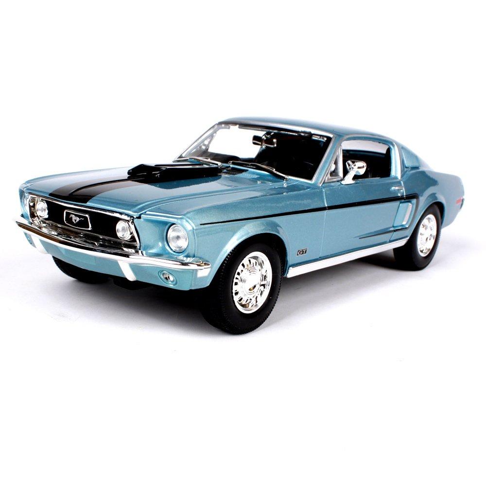 Haixin 1968 Ford Mustang GT simulación aleación Modelo de Coche, Modelo de Coche, relación: 1:18