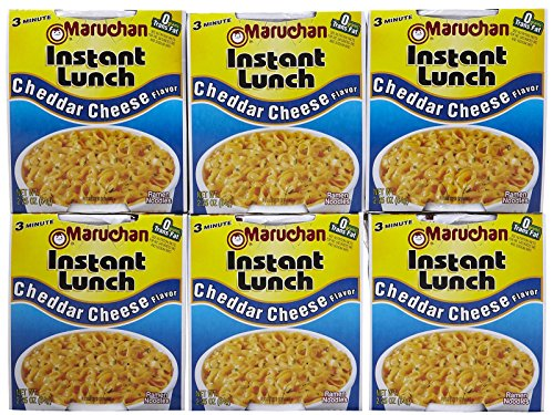 - Maruchan Instant Lunch Cheddar Cheese Flavor Soup - 2.25 oz - 6 Pack