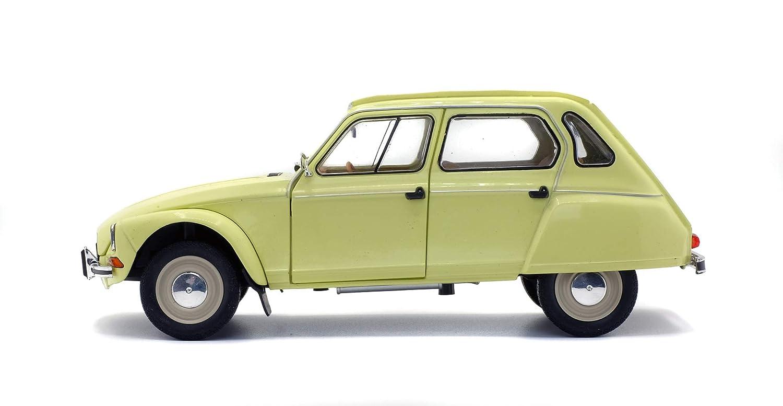 Colore SOLIDO S1800306 Giallo Auto in Miniatura della Collezione Citroen Dyane 6