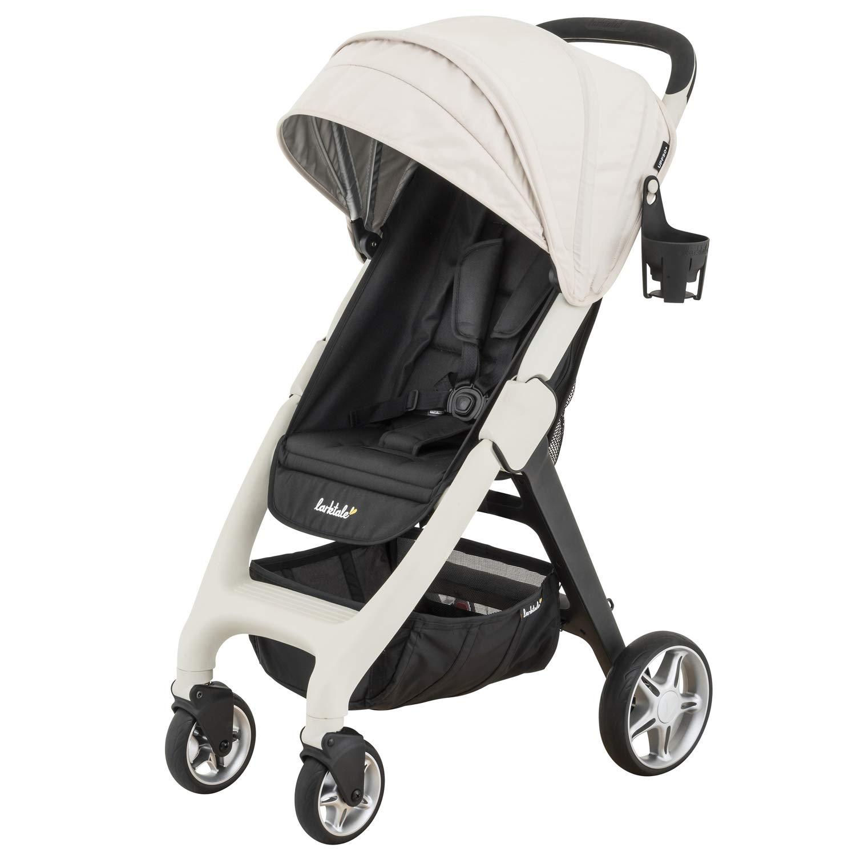 Amazon Com Larktale Chit Chat Plus Lightweight Travel Baby Stroller Newborn To Toddler Stroller Cottesloe Cream Baby