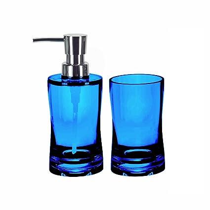 Amazoncom Bathroom Soap Dispenser Set 2 Pieces Liquid Soap