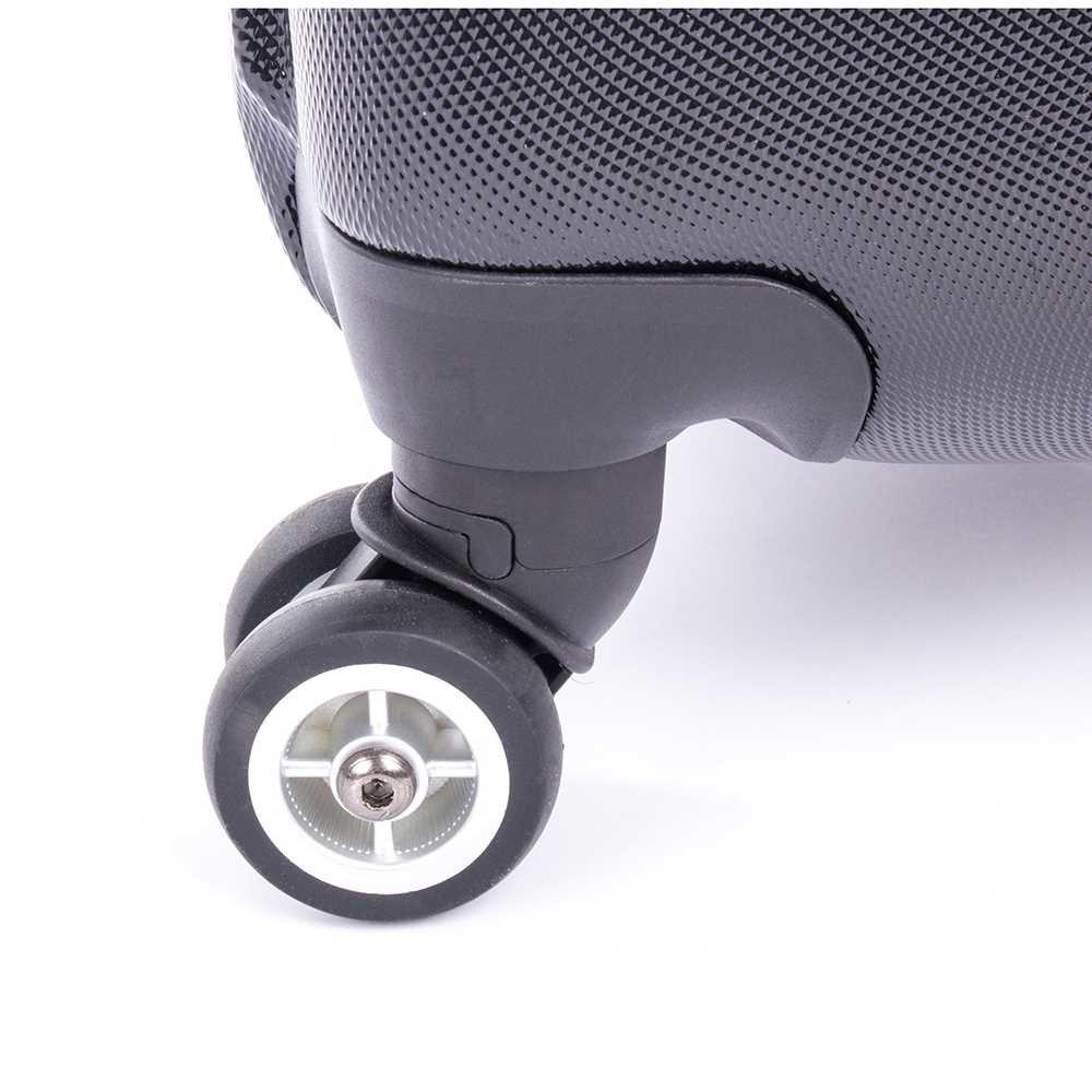Black Bugatti 3 Piece Hard Case Luggage