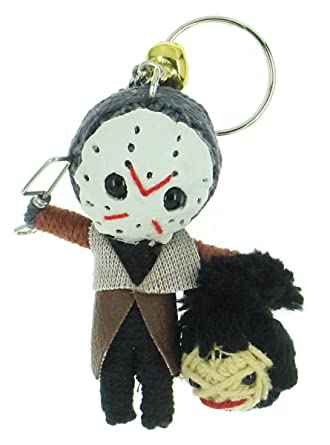 Amazon.com: Jason Friday 13th Voodoo Cadena Llavero con ...