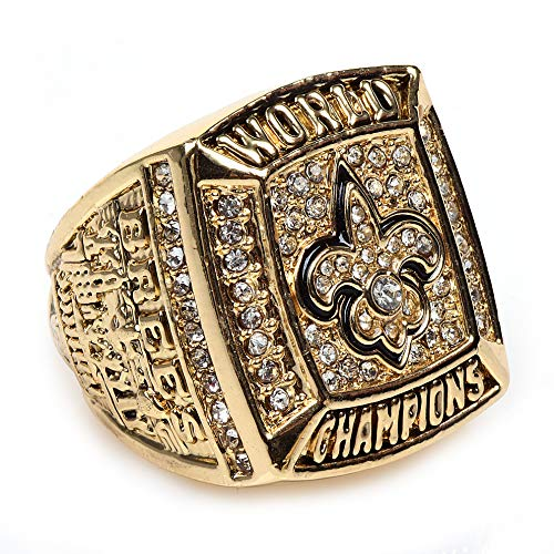 - MT-Sports New Orleans Saints 2009 Super Bowl Collectible Championship Ring Size 11