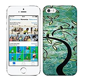 Best Power(Tm) HD Colorful Painted Watercolor Grenn Life Tree Hard For SamSung Galaxy S4 Phone Case Cover