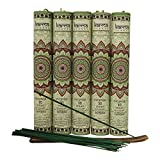 Premium Jasmine Incense Sticks 5 Set Gift Pack with a Holder In Each Box, Includes 150 Sticks and Five Incense Burners