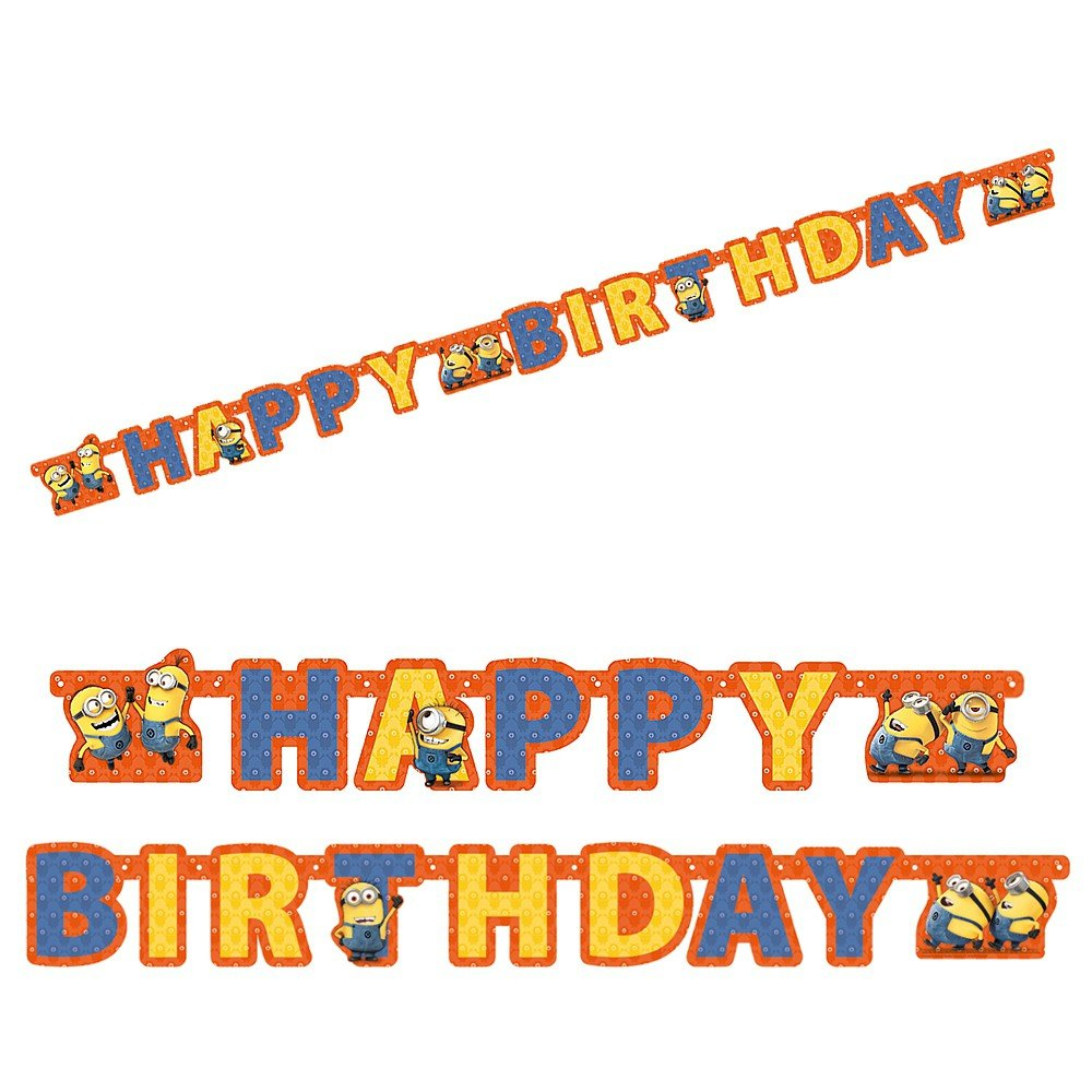 Despicable Me 2 - Minion Fiestas y Cumpleaños - Felicidades ...