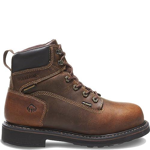 bad2e4501fa Wolverine Men's Brek 6 Inch Work Boot