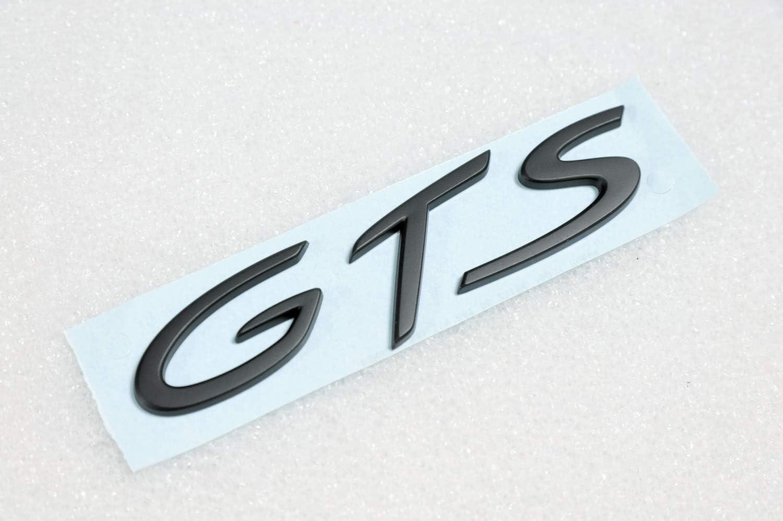 Neu Orig Porsche 911 991 Schriftzug Logo Gts Schwarz Black Motorhaube Auto