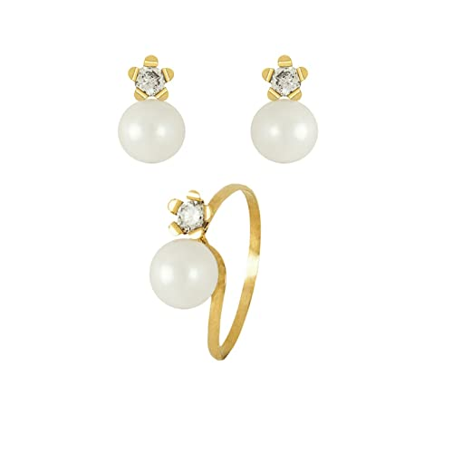 orecchini di perle per bambina