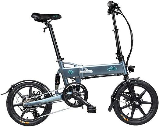 Purplert Bicicleta eléctrica Plegable FIIDO D2s Ebike, Bicicleta ...